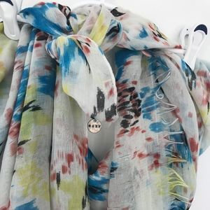 Multicolored Roxy Scarf
